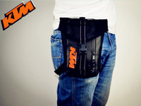 Wholesale Phone Carriers - KTM motorcycle waterproof leg bags to ride the pockets of mobile phone coins bag change documents package wholesale promotions