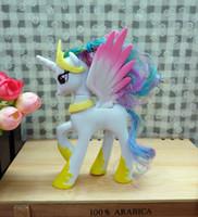 Wholesale Pvc Figures Little Pony - My Pony Friendship Is Magic Action Toy Figures Hobbies Unicorn Horse Cartoon Model Little Cute Pony Princess Celestia Toys Action Figures