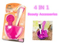 Wholesale Elitzia Mask making bowl measuring spoon brush stick Accessories for Facial Mask DIY