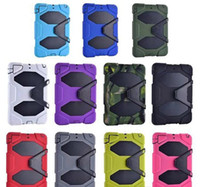 Wholesale For iPad mini Case All Terrain Defender Shockproof Hybrid Rugged Robot Case Heavy Duty in Case For iPad mini
