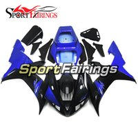 Wholesale Yamaha R1 Body Kit Black - Fairings For Yamaha YZF R1 02 03 2002 2003 Injection ABS Plastics Motorcycle Fairing Kit Blue Black Bodywok Carenes Body Kit Frames Cowlings