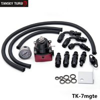 Wholesale Fuel Oil Cooler - Tansky - HQ Universal Oil cooler kit whit HQ hose fuel pressure regulator TK-7mgte, Have in stock