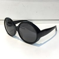 Wholesale m1 cases - M1 Sunglasses Fashion Women Brand Deisnger Popular Full Frame UV400 Lens Summer Style Round Frame black Color Top Quality Come With Case
