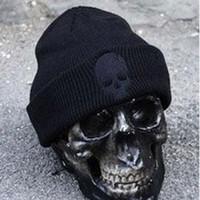 Wholesale Adults Headwear - hot New Mens Acrylic Hat Soft Resilient Women Skull Caps Fashion Hip Hop Beanie Headwear free shipping