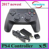 Wholesale Playstation4 Controller - 5pcs USB Ps4 gamepad For PS4 Playstation4 dualshock Vibration Joystick For Play Station 4 Ps4 wireless controller Gamepad yx-ps-4