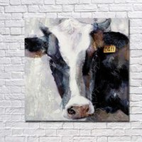 Wholesale Wall Sales Pictures - Cow Pictures Wall Art Decorative Home Decor Wall Pictures Modern Oil Painting on Canvas Wholesale for Sale