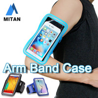 Wholesale Chinese Waterproof Cell Phone - For Iphone 7 Waterproof Sports Running Case Armband Running bag Workout Armband Holder Pounch For iphone Cell Mobile Phone Arm Bag Band
