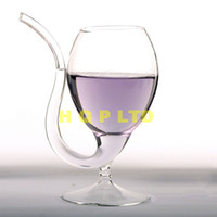 Wholesale glass art fusing - Wine glass Glass cup for Bar Parties Club set Wine accessories Wine glass clear cup Household cup