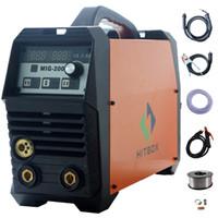 Wholesale Welding Machine Mig Mag - mig200 mag MIG welding machine GAS gasless MIG MMA lift TIG 3 in 1 welder multifunction welding machine
