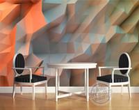 quarto de papel de parede único venda por atacado-3D Mural Criativo Laranja espaço papel de parede quarto Design Exclusivo Foto Papel De Parede Pintura Grande arte da parede de Teto Kid's room decoração de Casa