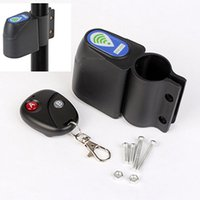 Wholesale Guard Security Wholesale - Wholesale-Bike Guard Against Theft Alarm Lock Bicycle Cycling Security Lock Wireless Remote Control Vibration Anti-theft Alarm