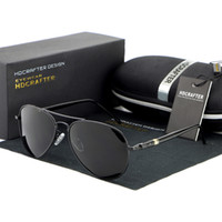 Wholesale Glass Mirror Coating - 2017 Fashion Men Sunglass UV400 Coating Polarized Sunglasses Mirror Classical Toad Sun Glasses SG1009