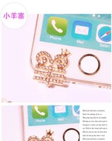Wholesale Decoration For Dust Plug - Wholesale-2pcs lot Hot 2016 Chinese sheep decoration Phone Anti Dust Plug Phone Accessories For Phone 3.5mm Earphone Jack Plug