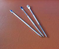 Wholesale Wholesale Fancy Pens - Hot Flower Pin Stipa DIY Fancy Coffee Garland Needle Rotation Type Pen Cappuccino Needles Stainless Steel Hot Sale 1 48hx J R