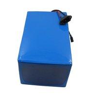 bateria de bateria de lítio de 48v venda por atacado-Frete grátis 48 V 2000 W super capacitor de armazenamento de lítio bateria Ebike 48 V 50ah tensão para Scooter UPS carregador de armazenamento 4A Solar