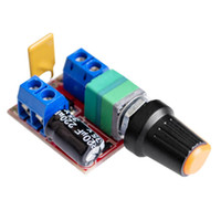 Wholesale Dc Motor Speed Control Pwm - 5A Mini DC Motor PWM Speed Controller DC 3V-35V Speed Control Switch LED Dimmer Directly Factory
