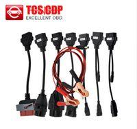 mazda smart оптовых-Горячий продавать автомобильный кабель OBD OBD OBD2 полный комплект 8 автомобильные кабели диагностический инструмент интерфейс кабель для всех моделей TCS cdp plus multidiag pro wow snooper