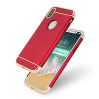 бесплатный телефон oppo оптовых-Для OPPO R11 Plus R9S VIVO X9 Plus X7 яркий гальваника пластиковый чехол для смартфона Серебряный розовое золото жесткая дешевая крышка Бесплатная доставка