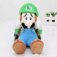 Wholesale 22cm Super Mario Brothers Luigi Mansion Plush Toy Soft Stuffed Plush Doll super mario bros