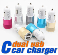 Wholesale Ipad Retina Charger - 5V 2.1A + 1A Dual USB Car Charger Adapter for iPhone 6 & 6 Plus   iPhone 5 & 5S   iPad mini   mini 2 Retina   Samsung Galaxy S6   LG   HTC
