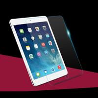 ipad mini bildschirm klarer film großhandel-PremiumTempered Glass Screen Protector Film für iPad Serie Mini 1 2 3 4 Clear Front Schutzfolien