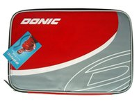 Wholesale Donic Racket - Donic D62027 Red   Gray Table Tennis Bat Cover for Ping Pong Racket