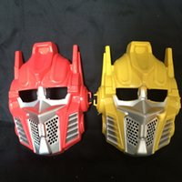 trafo partisi toptan satış-2016 transformers maskeleri Gerçeklik gösterisi aksesuarı Tam yüz karikatür maske Tatil parti maskesi 10 adet / grup