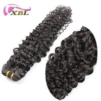 Wholesale Factory Direct Weft - One Piece Free Shipping Factory Direct Cheap Unprocessed Raw Silky Curly Human Hair, 100% Virgin Indian Hair