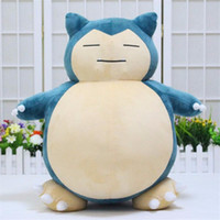 "Wholesale Doll Gif - Valentine 'S Day 1Pcs 20Inch ""50Cm Plush Toy Snorlax Plush Anime New Rare Soft Stuffed Animal Doll For Kid Gif Free Shipping"