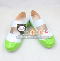 Wholesale yuri costume - Wholesale-Gakkou Gurashi! SCHOOL-LIVE! Takeya Yuki Wakasa Yuri Naoki Miki cos Cosplay Shoes Boots shoe boot #JZ402