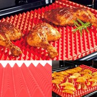 Wholesale Electric Heating Oven - Pyramid Bakeware Pan Nonstick Silicone Baking Mats Pads Moulds Cooking Mat Oven Baking Tray Sheet Kitchen Tools