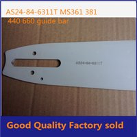 Wholesale MS360 chainsaw guide bar GOOD QUALITY fast shipping