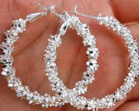 schmuck 925 silber earing großhandel-Mode Frauen Schmuck 925 Sterling Silber