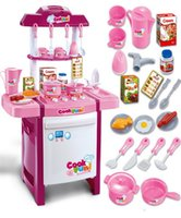 Wholesale Toy Kitchen Utensils Wholesale - Toys Kitchen Children Simulation Play House Utensils Infants Young Children Role Play Educational Suits Cooking Set