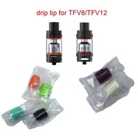 Wholesale fit for baby - 2017 wholesale Somedaytech wholesale TFV8 BABY 810 528 silicon drip tip mouthpieces fit for ecig drip tips Griffin for e cigs