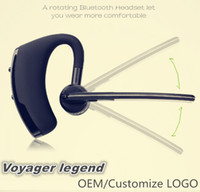 Wholesale Wholesale Phone Business - Bluetooth Headset V8 Voyager Legend Wireless V4.0 Business Stereo Headphone Earphones With Mic Handfree for iPhone X 8 Smart Phones
