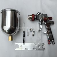 Wholesale Hvlp Auto Paint Gun - spray gun HVLP Spray Gun Auto Feed Paint Spray Pistol Power Tools W-960 Spray Gun with Aluminum pot