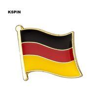 Wholesale pins flags - Free shipping Germany Metal Flag Badge Flag Pin