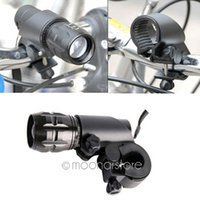 Wholesale Cycling Bracket - Wholesale-Free shipping! New Cycling Grip Mount Bracket Bike Flashlight LED Torch Clamp Clip Bicycle Light Holder