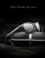 gafas veithdia al por mayor-VEITHDIA Retro Aluminio TR90 Gafas de sol polarizadas Lens Hombres Male Eyewear Accesorios Driving Sun Glasses Sports Goggle