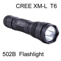 Wholesale Led Flashlights For Sale - For Sale,100pcs New 100% UltraFire 502B 1000 Lumens CREE LED XM-L T6 Flashlight