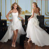 Wholesale Lowest Price Wedding Suit - 2017 sequined Low price the bride royal princess wedding dress short train formal dress short design wedding growns