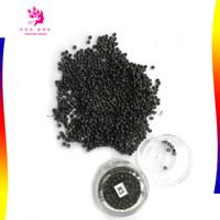 micro contas de cobre venda por atacado-Atacado-1000pcs / lot3 # marrom escuro micro anéis de silicone nano contas cobre Nano links para ferramentas de extensão de cabelo 3.0 * 1.6 * 2.0 mm