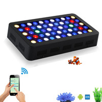 Wholesale Led Moonlight Aquarium - Wholesale-Stock in USA Germany165w WIFI Dimmable LED Aquarium Light Full spectrum moonlight aquarium led lighting lamp for reef coral fish
