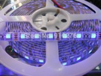 16.4ft 5M UV Ultraviolet 395nm 5050 SMD Violet 300 LED Flex Strip Light 12V étanche IP65, haute qualité,