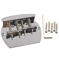Wholesale Curved Guitar - 4 STRING CURVED BASS GUITAR BRIDGE FOR FENDER