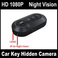 Wholesale Dvr Full Hd Key - Full HD 1080P Car Key Chain Remote Spy Hidden Camera DVR with Motion Detection Night Vision Cam Spy Recorder Key DVR