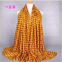 Wholesale Dot Cape - 2017 Spring autumn velvet chiffon scarf sunsreen cape beach towel polka dot silk scarf hot sale Scarves Wholesale Gift 180*80CM 100% viscose