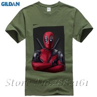 Wholesale perfect t shirts - 2017 Latest Brand of The Hot Men Deadpool Comic Print T-Shirt of the Perfect God Idiot Ft.