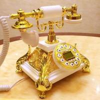 Wholesale Telephones Antique Vintage Style - European-style Antique telephone of high-end vintage stylish european-style telephone home antique telephone office